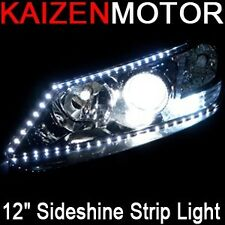 "2PC Audi R8 A5 Style 15-SMD LED 12"" DRL Driving Strip Lights For all Car 12V"