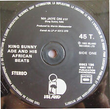 """KING SUNNY ADE AND HIS AFRICAN BEATS RARE FRENCH MAXI 12"""" AFROBEAT MA JAIYE ONI"""