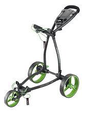 Big Max Blade + , 3 - Rad Golftrolley, neuestes Modell Farbe: black/lime, neu!