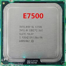Intel Core 2 Duo E7500 SLGTE SLB9Z CPU 2.93 GHz LGA 775 Processor