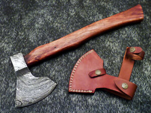 """New Beautiful Handmade Damascus Steel AXE """"UNIQUE AXE"""" Limited Edition WD-9431"""