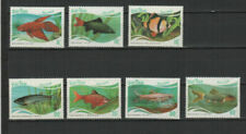 Timbres, provenance Vietnam, sur poisson