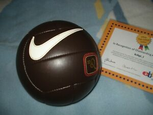Nike Ronaldinho 10R tiempo Gaucho 2007 Leather LTD Stiched Ball ultra rare
