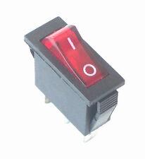 DESA FMI Rocker Switch Electric Fireplace Heater On Off Lighted 120927-24, J5613