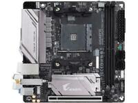 GIGABYTE B450 I AORUS PRO WIFI AM4 AMD B450 SATA 6Gb/s USB 3.1 HDMI Mini ITX AMD