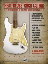 Real Blues Rock Guitar Learn to Play TAB Book & 2 DVDs