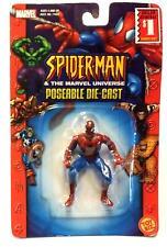 2003 TOYBIZ MARVEL POSEABLE DIE-CAST SPIDERMAN - (SPIDERMAN PKG) NEW