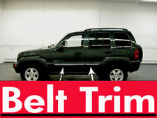 Jeep LIBERTY CHROME SIDE BELT TRIM DOOR MOLDING 02 03 04 05 06 07 2008-2013