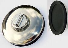 Barnacle Autoflex Desmo Style Suction Classic Chrome Car Tax Disk / Disc Holder