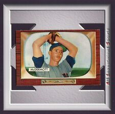 1955 Bowman MAURICE MCDERMOTT #165 NM-MT *fabulous card for your set* M40C