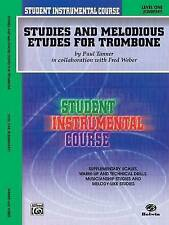 Studies and Melodious Etudes for Trombone, Level One by Fred Weber, Paul...