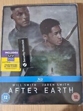 AFTER EARTH STEELBOOK BLU RAY! REGION FREE, NEW & SEALED. WILL SMITH