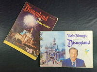 1958 DISNEYLAND Guide Book Walt Disney & Holiday Summer Guide Souvenir Lot 🗺️