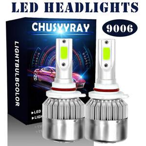 For Chevrolet Corvette 1997-2004 Ice Blue LED HeadLights Kit Fog Light Bulbs 2Pc