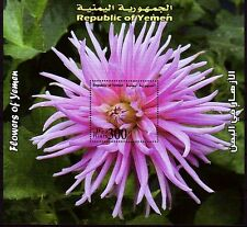 Yemen Republic 2007 ** Bl.47 Blumen Flowers Plants