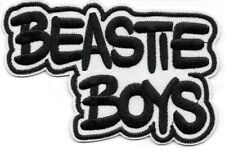 Beastie Boys (band) black white Embroidered Patch Iron-On Sew-On