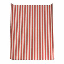 """Greaseproof Burger Paper Sheets Red Striped Wrap 10"""" x 12.5"""" (1000 sheets)"""