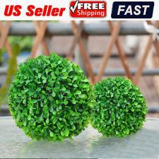 Artificial Plant Ball Topiary Tree Grass Ball Home Outdoor Wedding Party Decor