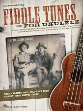FIDDLE TUNES FOR UKULELE UKE TAB W/PLAY ALONG AUDIO SHEET MUSIC SONG BOOK