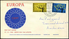 Netherlands 1962 Europa FDC First Day Cover #C36180