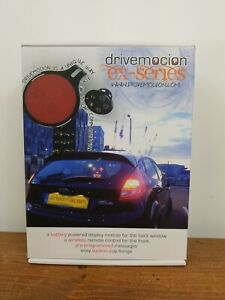 Drivemocion EX-Series Remote Controlled Display of Emotions for Drivers NEW RARE