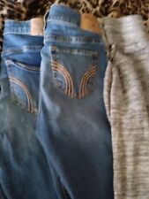 womens clothing lot size small Hollister jeans and grey joggers