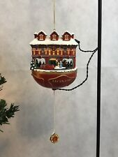 Bradford Editions Answering The Call Fire Rescue Animated Christmas Ornament