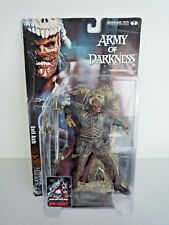 ARMY OF DARKNESS / EVIL ASH / MOVIE MANIACS 4 / MCFARLANE TOYS / SEALED ON CARD