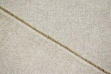 "Oatmeal Tan 10 oz Canvas Duck 100% Flax Linen Fabric Natural Fiber 62""W Sl-112"