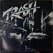TRASH: Burnin' Rock-M1985LP Swedish group, looks like a hair band