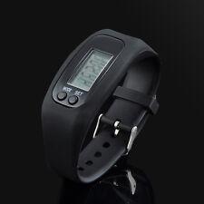 Run Step Walking Distance Bracelet Watch Calorie Counter Digital LCD Pedometer
