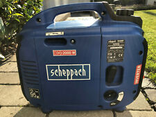Scheppach Inverter Stromgenerator, Stromerzeuger SG2000 max. 2000W