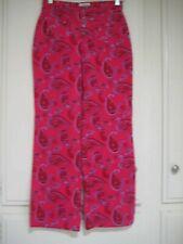 Circo Red Print Cotton & Poly Pants, Girl'S Size 14