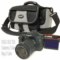 Professional Padded VIDEO PHOTO CAMERA CASE BAG Nikon Canon Sony SLR DSLR TLR
