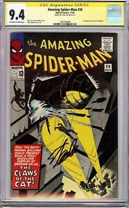 AMAZING SPIDER-MAN #30 (1965) CGC 9.4 SS Signed Stan Lee!! KEY ISSUE