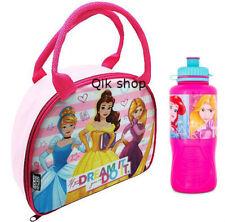 Disney Princess Lunch Bag &  Disney Princess Sports Water Bottle