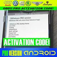 Obdeleven pro Android App Codice Ultimo 2020 pro Versione OBD11 Attivazione