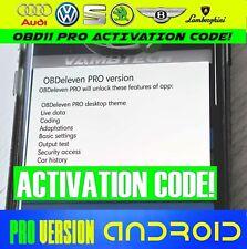 Obdeleven Pro Android App Code Dernier 2020 Pro Version OBD11 Activation
