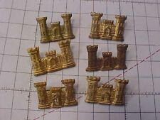 ORIGINAL WWII US ENGINEER OFFICER INSIGNIA LOT