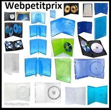 BOITIER 1,2,3,4,5,6 DVD 1,2,3,4,5,6,8,6Mm Bluray,Ps3,4,360,One,Wii,U,PSP NEUF