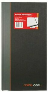 Collins Ideal Case Bound Manuscript Book Ruled Feint 192 Page Size 297mm x 152mm