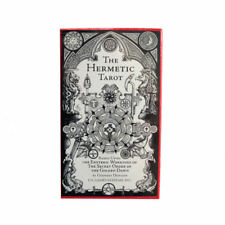 The Hermetic Tarot 78 Cards Deck with Instructions by Godfrey Dowson