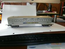 AMERICAN FLYER S-SCALE  PASSENGER  CAR--AMERICAN FLYER LINES-SILVER BULLET-655