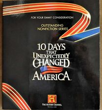 10 Days That Unexpectedly Changed America DVD Set History Channel