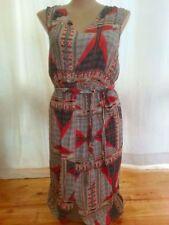 Knee Length V-Neck Dresses for Women with Belt