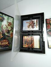 World of Warcraft trading card game Drums of War Decks are New sealed