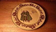 "Gorgeous Vintage English Royal Doulton Porcelain The Coachman 10 1/4"" Plate"