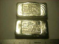 Beaver Bullion hand poured Canadian 5 troy ounce 999 fine silver bar