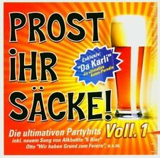 Prost ihr Säcke 1 DJ Karli feat. Supancic, Jojo's, Alkbottle, Schröders.. [2 CD]