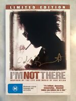 Cate Blanchett Personally Autographed I'm Not There DVD - Hand Signed Authentic